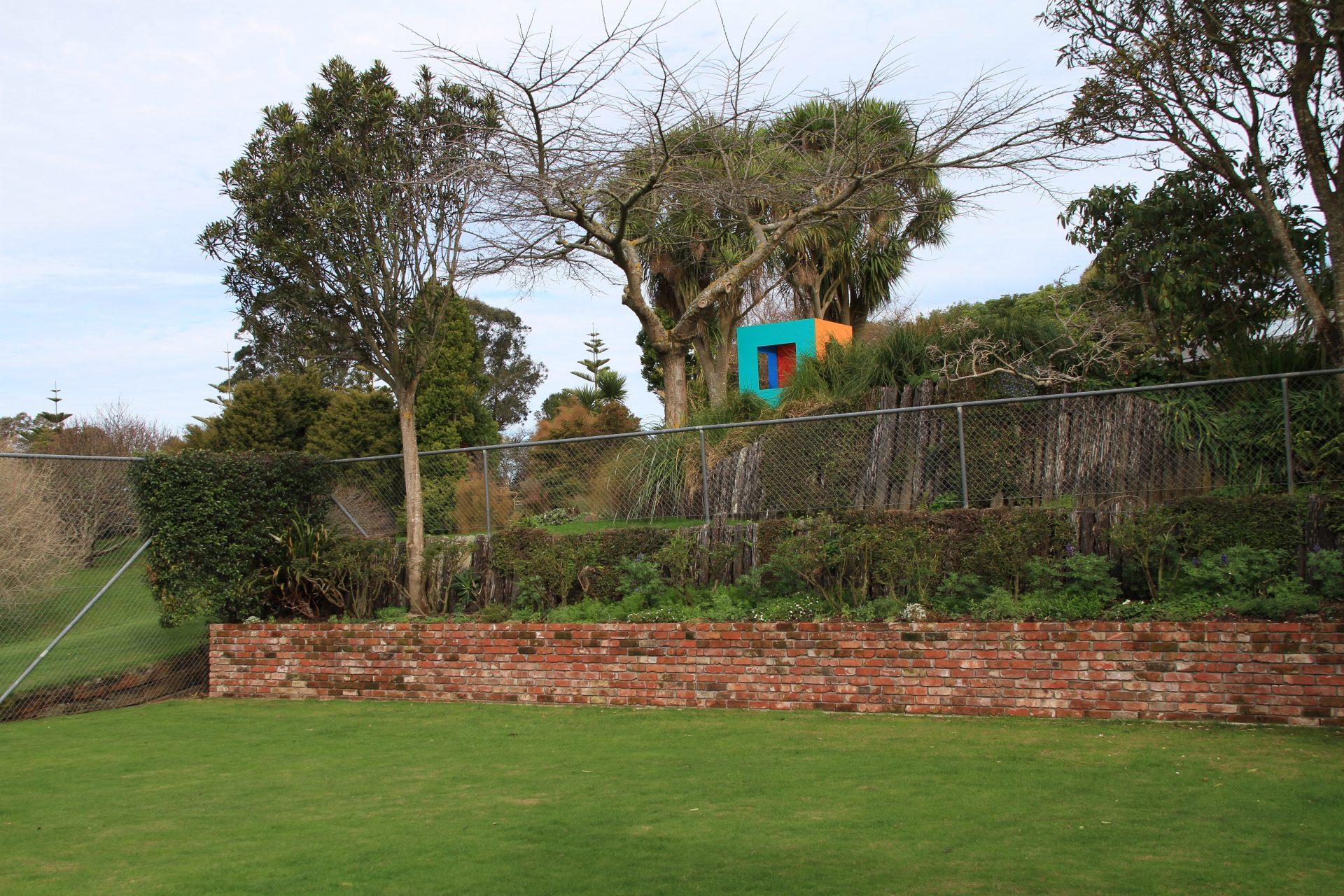 New brick work in the garden