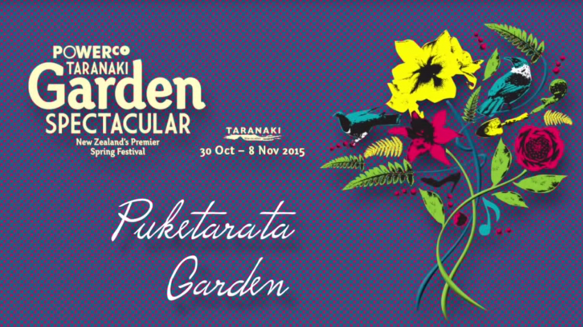 See the youtube clip taken during 2015 Garden Festival