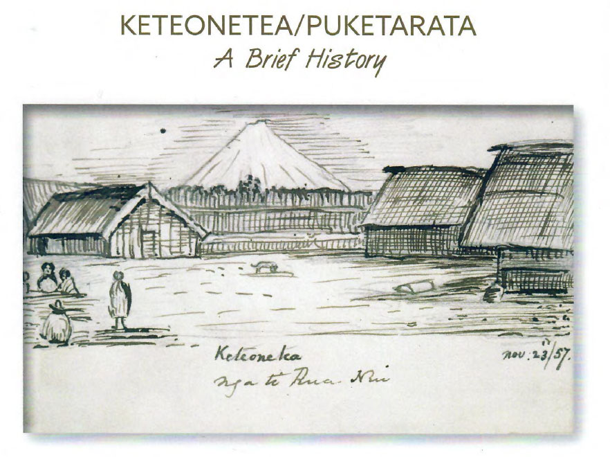 Piketarata Garden - a Brief History